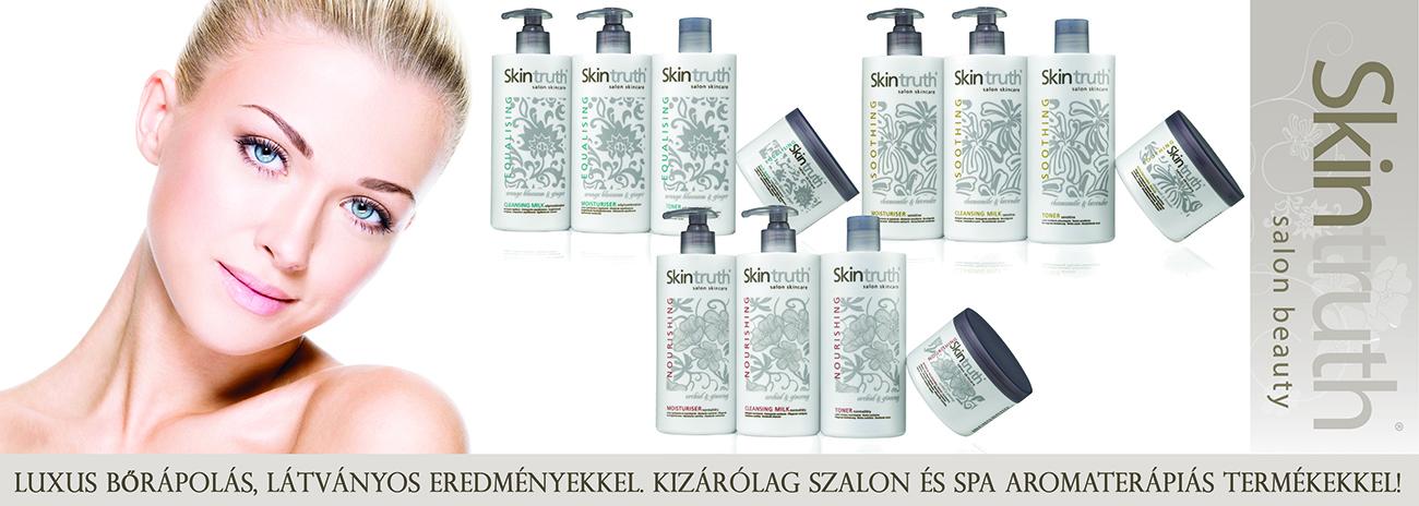 Skintruth kozmetikai kabin termékek